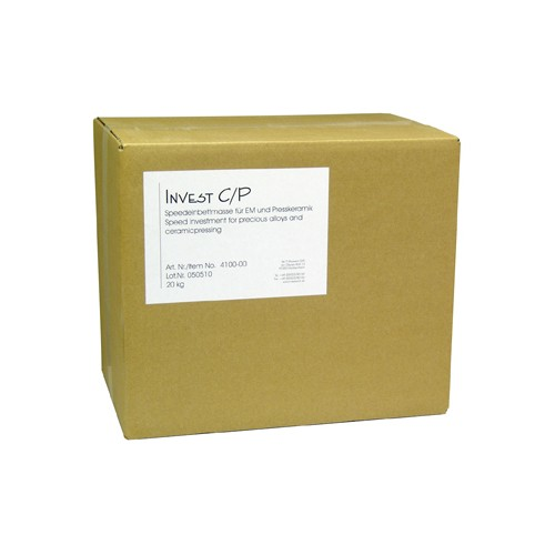 Invest C/P Speed Investment Material - 20 kg