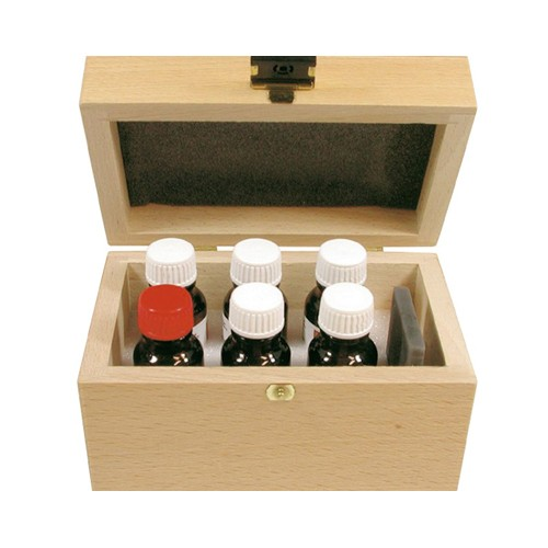 Box with Testing Acids - 1 set
