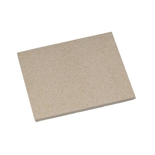 Fireclay Plate, 130 x 115 mm - 1 piece