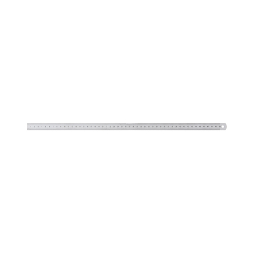 Ruler, Spring Steel, 500 x 18 x 0,5 mm - 1 piece