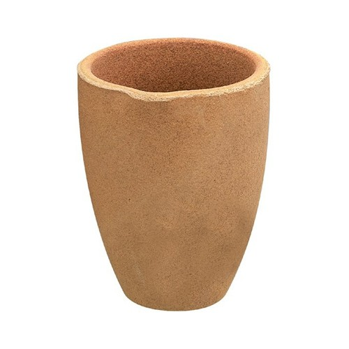 Clay Crucible, 150 x 100 mm - 1 piece