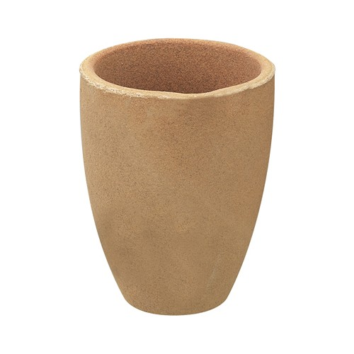 Clay Crucible, 100 x 80 mm - 1 piece