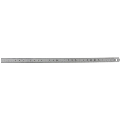 Ruler, Spring Steel, 300 x 13 x 0,5 mm - 1 piece